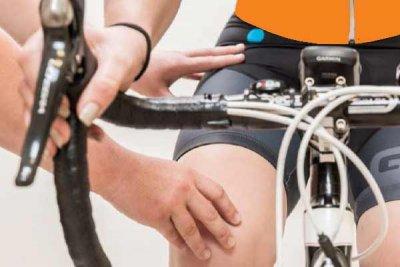 kniepijn tijdens fietsen