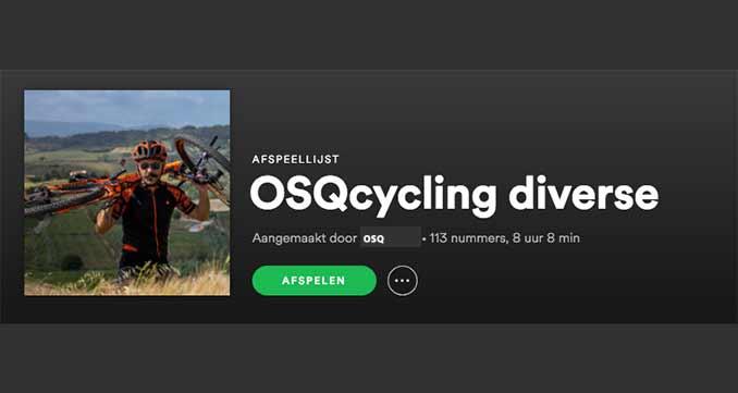 osqcycling music