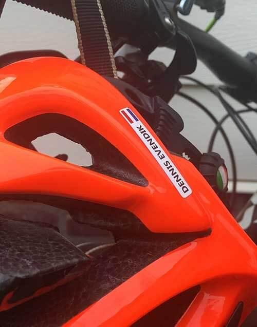 naamstickers voor fiets
